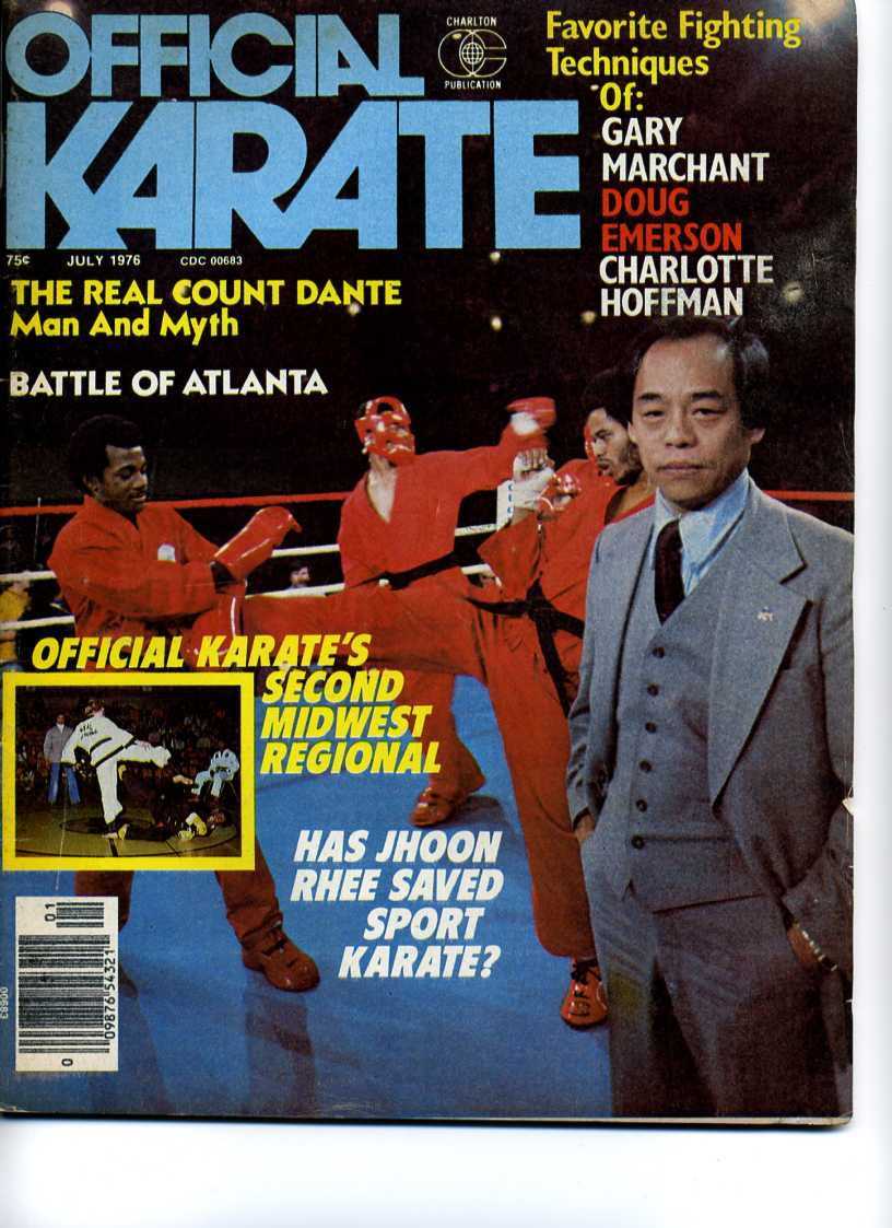 07/76 Official Karate